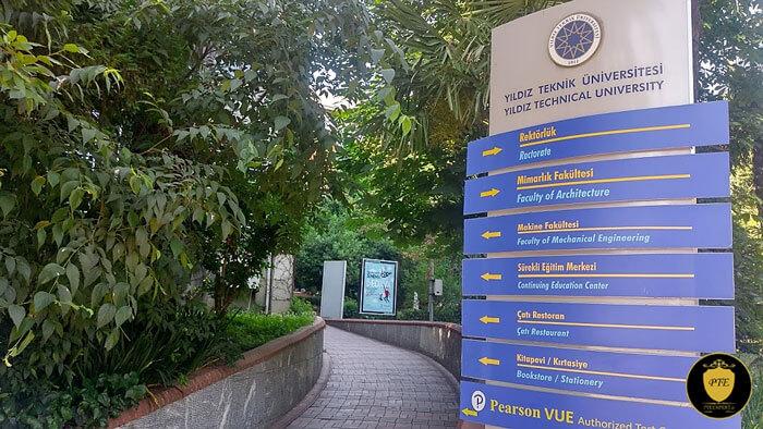 مراکزآزمون PTE در شهر استانبول ترکیه